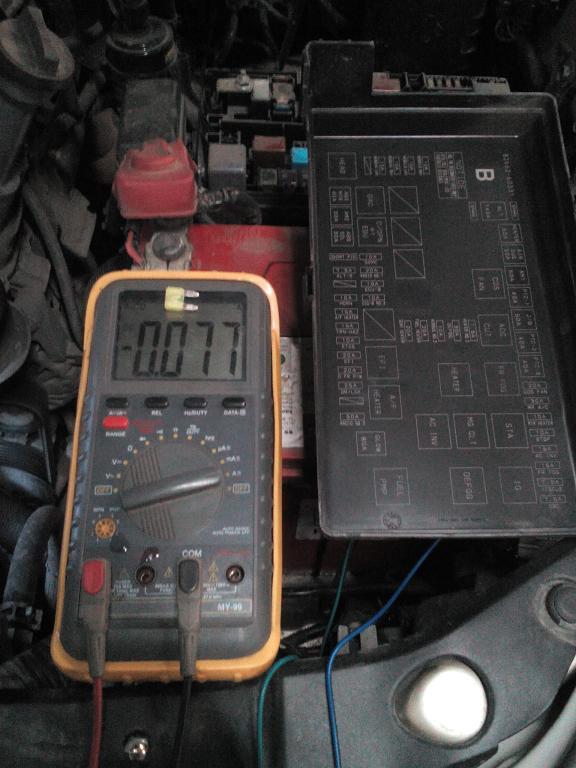 тойота разряжается аккумулятор, нормальный ток утечки аккумулятора