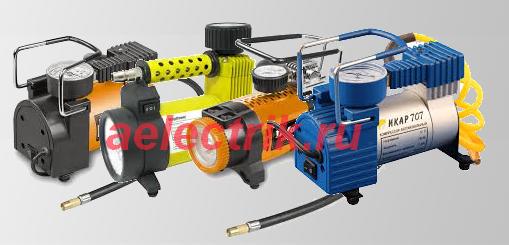 компрессоры для подкачки шин