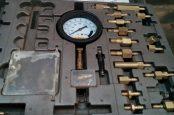 Замер давления в топливной рейке