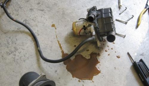 sap-off отключение насоса егр, вторичного воздуха, продувки катализаторов, продувки картера