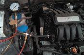 Фольцваген джетта проверка даления топлива