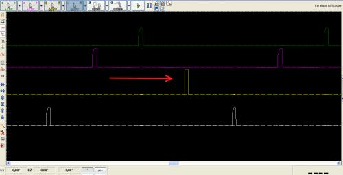 ошибка 1320 ниссан проверка осциллографом катушек зажигания