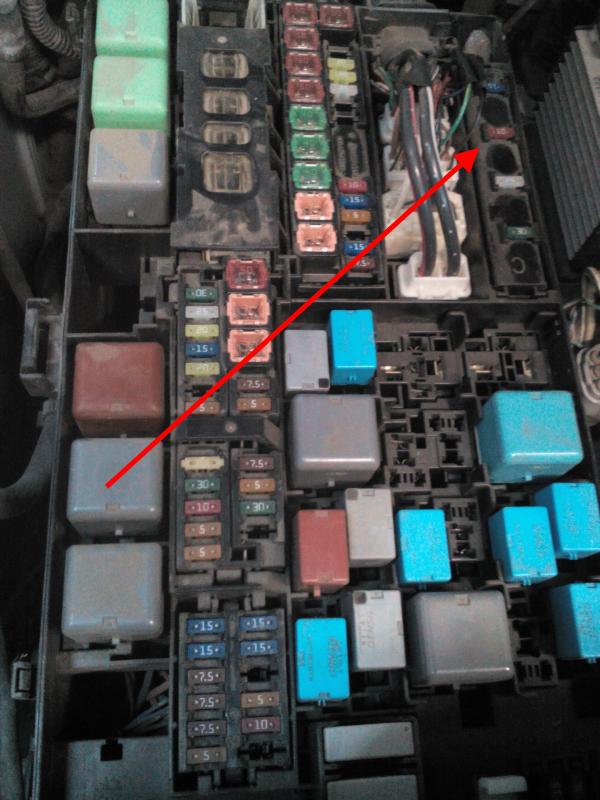 tlc200 предохранитель сигнала
