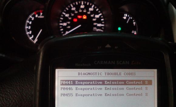 p0445 lexus