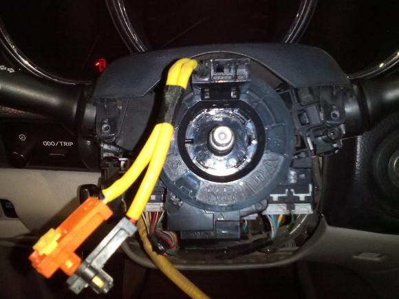 Ошибка B0101 - B1181 Lexus RX330