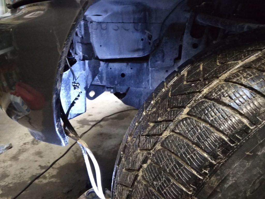 100 крузер ремонт проводки стеклоомывателя