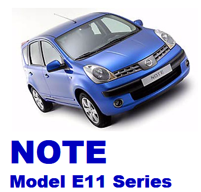 ниссан ноут, nissan note model e11 series, Nissan notu modeli 11 serisi