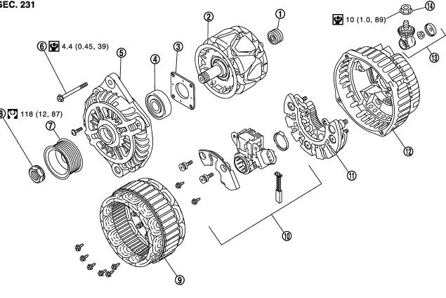 разборка генератора мурано