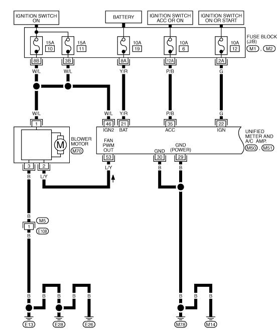 схема отопителя мурано 50