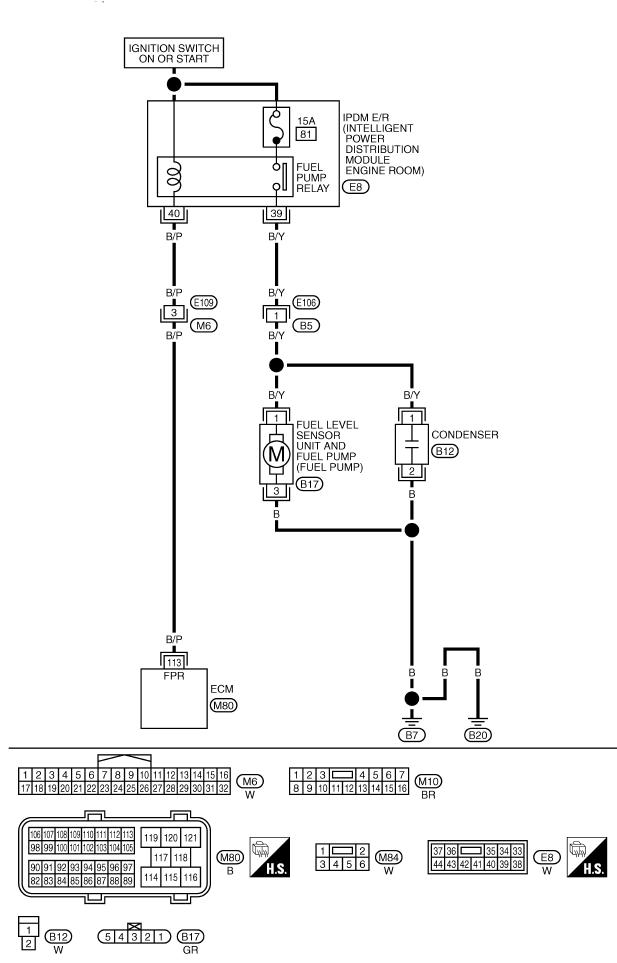 схема бензонасоса мурано 50