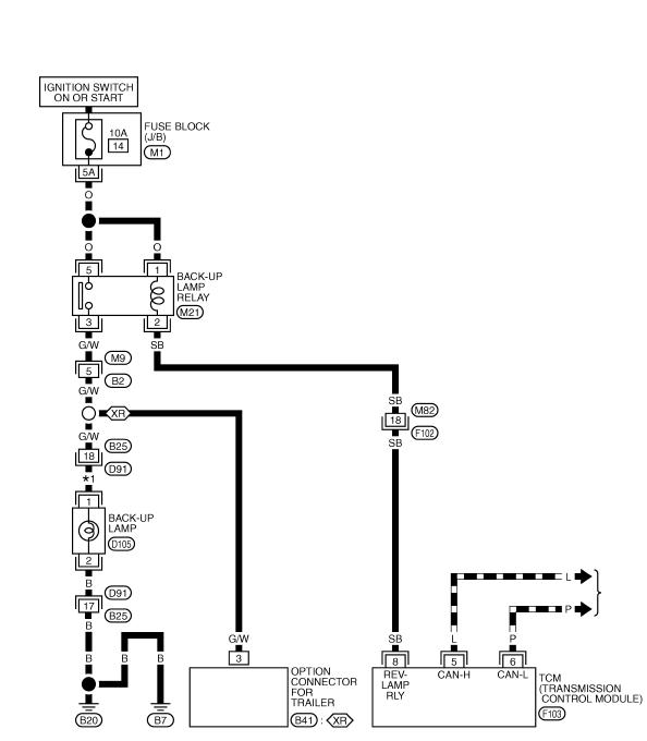 схема заднего хода мурано 50