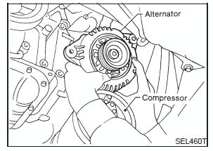 снятие генератора ниссан максима а33