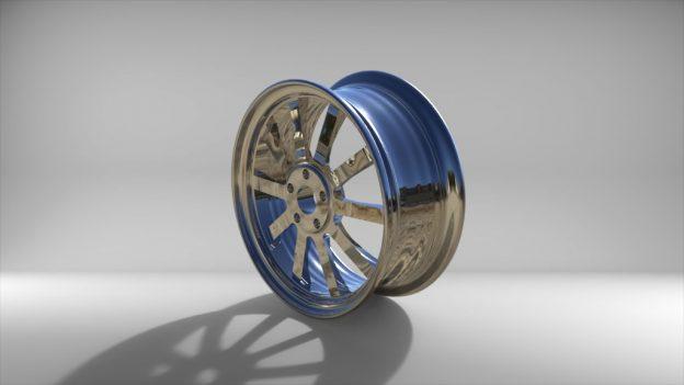 3д модель диска в компас 3д, stl, step, keyshot