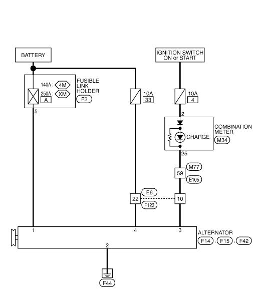 схема генератора кашкай