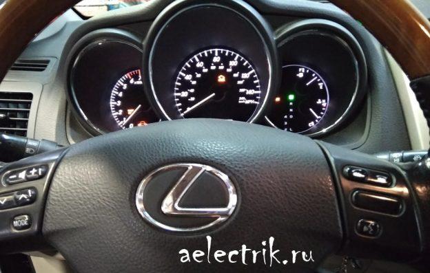 Lexus rx330 ошибки P0420/P0430