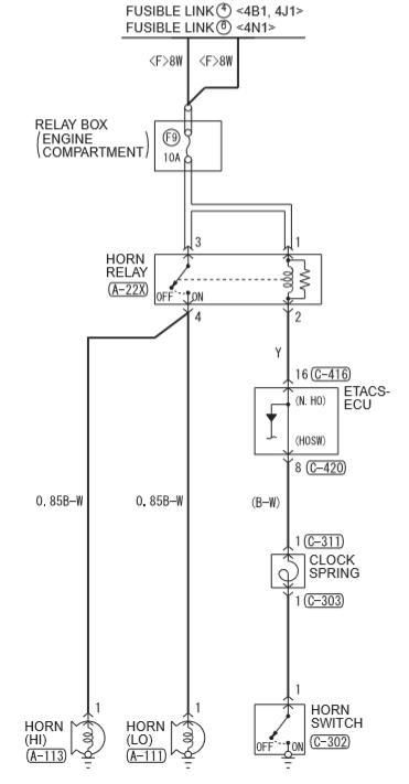 схема сигнала аутлендер 3