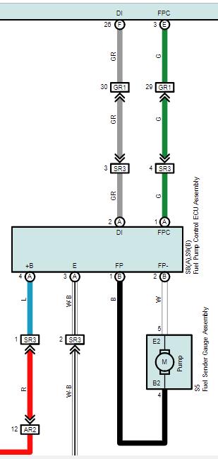 прадо 150 схема бензонасоса,  lexus gx460 схема бензонасоса