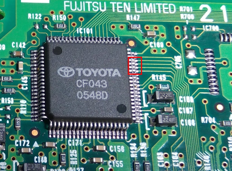 SF043 toyota