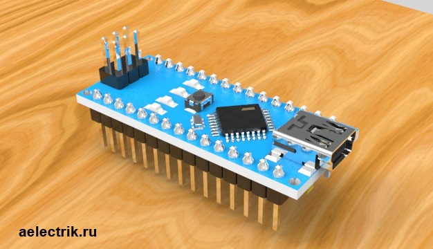 Arduino nano 3d model step stp download