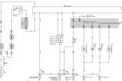 Схема поворотов и аварийки Прадо 120