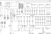 Прадо 120 схема пневмоподвески, реле компрессора