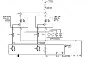 Схема системы зажигания Лансер 9