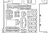 Mitsubishi ASX схема предохранителей