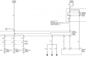 Схема свечей накала MMC ASX