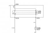 Mitsubishi Colt схема сигнала