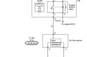 P0100 Air Flow Sensor System Mitsubishi Colt