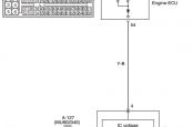 P0622 Alternator FR Terminal System Mitsubishi