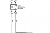 Схема сигнала Тойота Витц, Платц