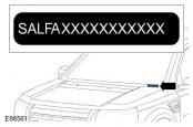 Frelander 2 расположение табличек идентификации - VIN, номер двигателя и т.д.