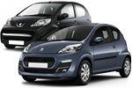 Замена ламп передних габаритов Citroen C1 и Peugeot 107