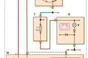Hyundai Getz схема и распиновка генератора