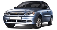 Размер щёток стеклоочистителя для Chevrolet Lanos