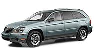 Размер щёток стеклоочистителя для Chrysler Pacifica