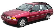 Размер щёток стеклоочистителя для Ford Escort