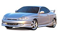 Размер щёток стеклоочистителя для Hyundai Tiburon