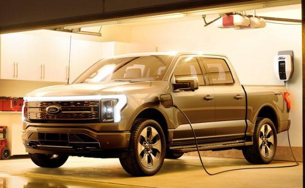 электрический пикап форд