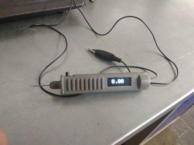 контролька автоэлектрика на микроеонтроллере, с дисплеем, аккумулятором, зарядкой от усб, осциллографом
