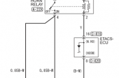 Схема звукового сигнала MMC Аутлендер 3