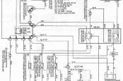 Электросхема вентиляторов радиатора Тойота калдина.