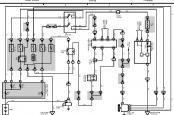 TLC100 схема стартера и генератора