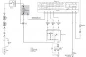 Схема стеклоочистителя и омывателя прадо 120