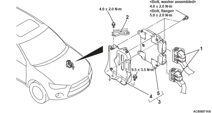 Outlander XL расположение блока управления двигателя