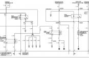 Схема бензонасоса Лансер 10