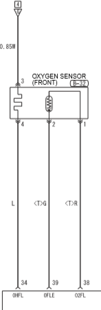 P0031 Oxygen Sensor (front) Heater Circuit Low Input