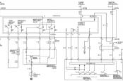 MMC Colt схема стеклоочистителя и омывателя