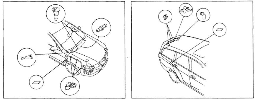 Схема шлангов омывателя Хонда Аккорд 7